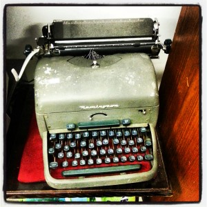 Is Generation Lost like this old typewriter? Perfectly functional but unusable?